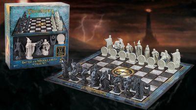 Soutěžte o šachy s tematikou Pán prstenů - Bitva o Středozem
