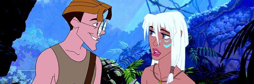 Disney prý připravuje live-action verzi filmu Atlantida: Tajemná říše