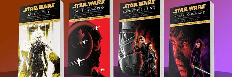 Lucasfilm vydává další várku knih z kategorie legend a audioknihu