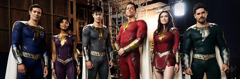Shazam Family se vrátí v připravovaném sequelu