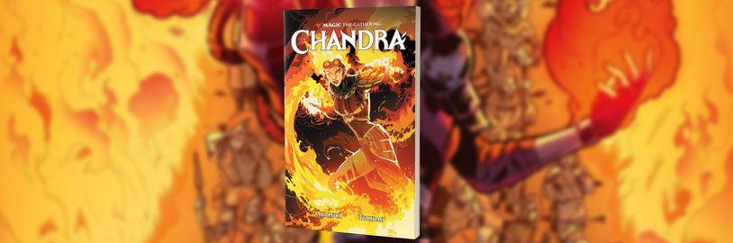 Nový komiks Magic the Gathering: Chandra