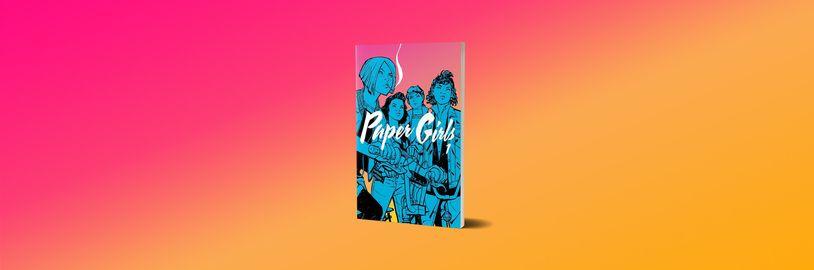 Komiksová série Paper Girls mísí mysteriózní zápletku s předměstským dramatem
