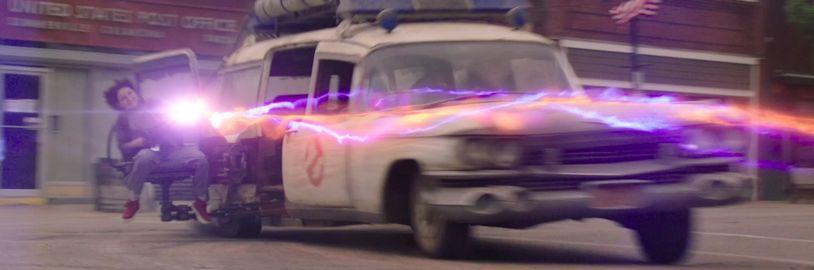Na nové Ghostbusters si počkáme o týden déle