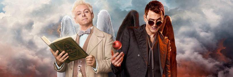 Herecké duo ze seriálu Good Omens se vrátí v nové verzi audioknihy původní předlohy