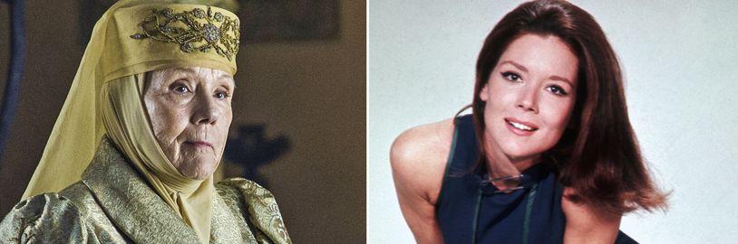 Umrela herečka Diana Rigg, hviezda Hier o tróny a bývalá Bond Girl