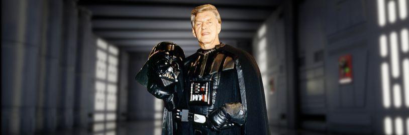 Umrel prvý filmový Darth Vader, herec Dave Prowse