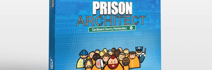 Staňte se správcem věznice v deskovce na motivy Prison Architect