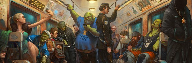 Pán prsteňov v 21. storočí, gopnik Zaklínač, či Warcraft Boyband, to prinášajú kresby Tonyho Sarta