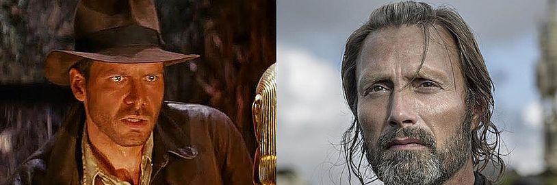 Mads Mikkelsen se objeví v novém Indiana Jonesovi