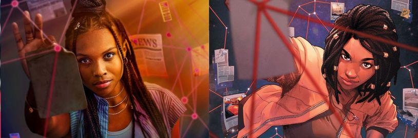 Do Arrowverse prichádza Naomi. Prvý obrázok sľubuje presnú adaptáciu komiksu