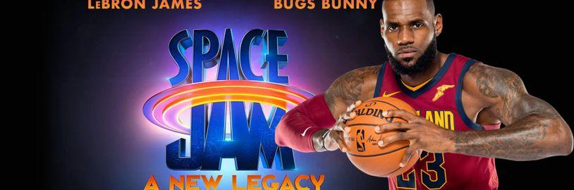 Pokračovanie basketbalového Space Jamu dostalo oficiálne logo