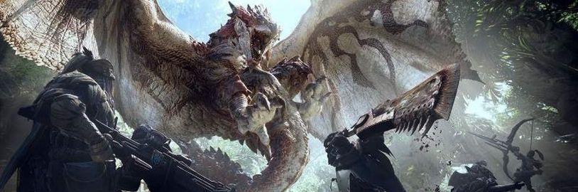 Nové plakáty z PAX East lákají na filmové zpracování série Monster Hunter