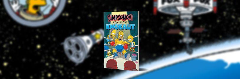 Homer Simpson vyzve Burnse na férovku v novém komiskovém svazku