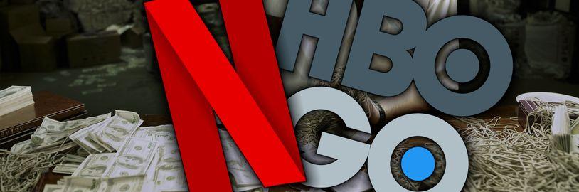 Netflix se snaží omezit sdílení hesel, zatímco HBO GO potichu zdražilo