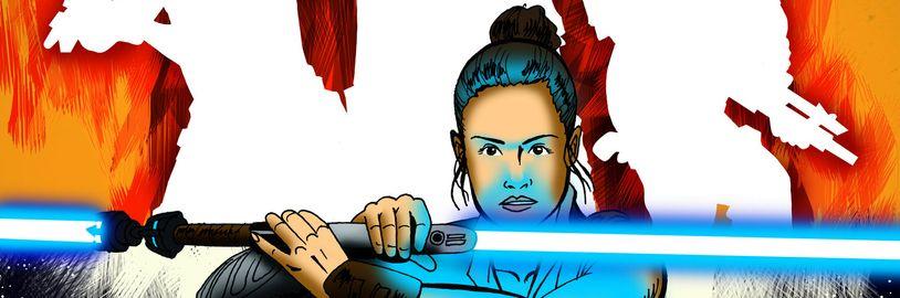 Alternativní scénář Star Wars epizody IX ve fandovském komiksu