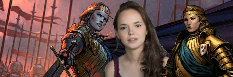Kráľovnú Meve bude v druhej sérií Zaklínača hrať mladá herečka Rebecca Hannsen