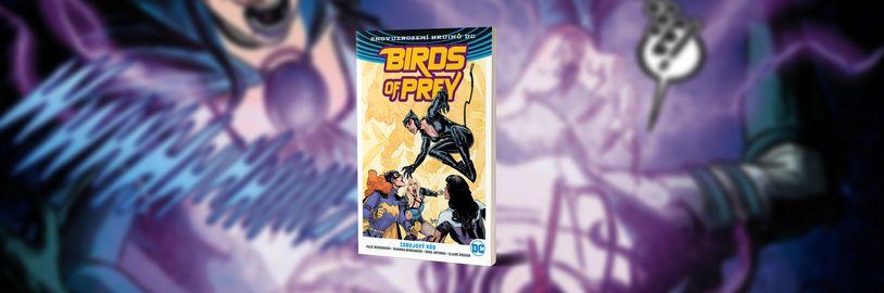 Seskupení superžen s názvem Birds of Prey musí porazit superpadoušku Blackbird ve druhém komiksovém svazku s podtitulem Zdrojový kód