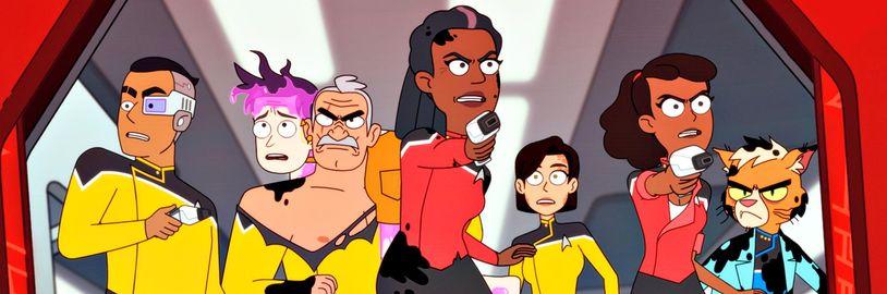 Star Trek: Lower Decks na nových obrázkoch so známymi postavami