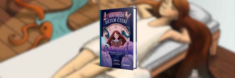 Kdo krade dětem čtení, zajímavý detektivní román, který má v dětech vyvolat lásku ke čtení