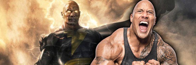 The Rock sa objaví v kinách ako Black Adam od DC