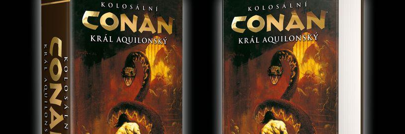 Comics Centrum spustilo předprodej třetího Kolosálního Conana